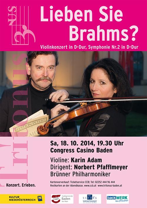 Tritonus, 18.10.2014: Lieben Sie Brahms?